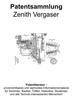 Thumbnail Zenith Vergaser und Zubehör - Technik Beschreibungen Skizzen