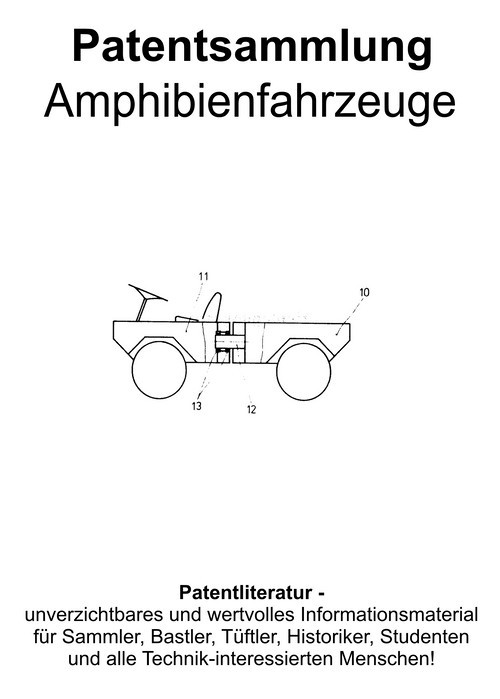 Pay for Amphibian vehicles historical & modern - Technical drawings