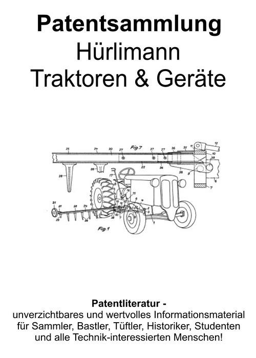 Pay for Hürlimann Traktoren & Geräte - Entwicklungen Technik Skizzen