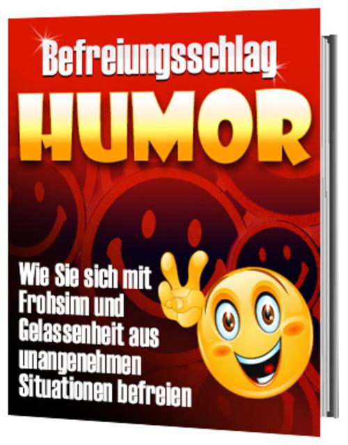Pay for Befreiungsschlag Humor - Mit Frohsinn und Gelassenheit