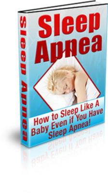 Pay for Sleep Apnea eBook with PLR