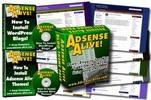 Thumbnail Adsense Themes Adsense Alive for WP - HOT ITEM!!!