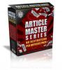 Thumbnail Article Master Series 1325 PLR V1-V53