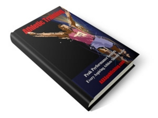 Pay for NEW ! Athletic Training with PLR - HOT ITEM!!!