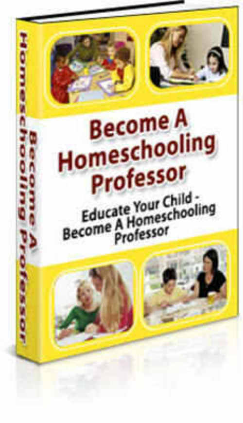 Pay for How To Homeschool Your Child - HOT ITEM!!!