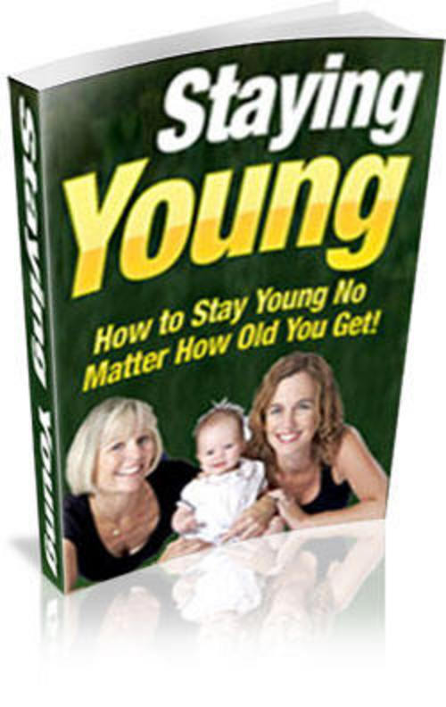 Pay for How to Stay Young with PLR - HOT ITEM!!!