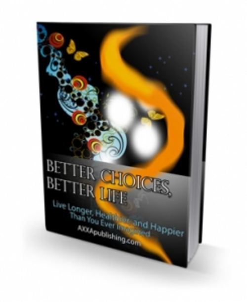 Pay for NEW ! Better Choices Better Life with PLR