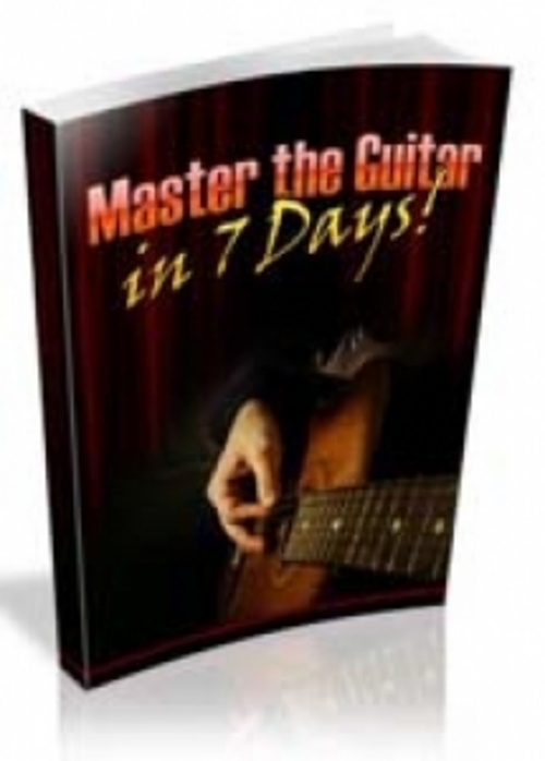 Pay for NEW! Master The Guitar In 7 Days with PLR