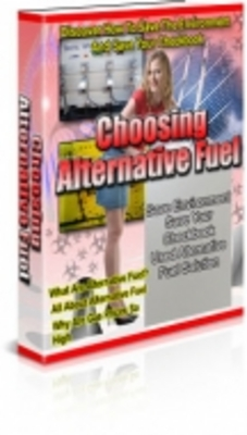Pay for Choosing An Alternative Fuel with PLR