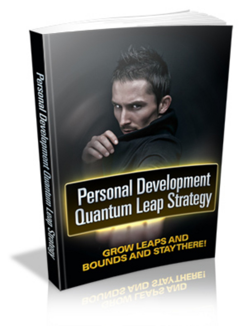 Pay for Personal Development Quantum Leap Strategy
