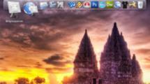 Thumbnail Cool Mac OS X like fisheye launcher