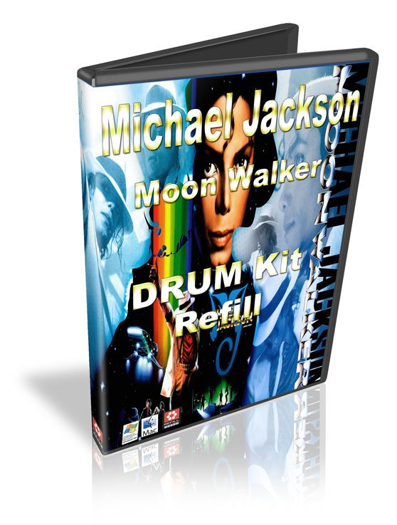 Pay for Michael Jackson Moon Walker Drum kit Refill