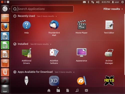Ubuntu 12.04 desktop