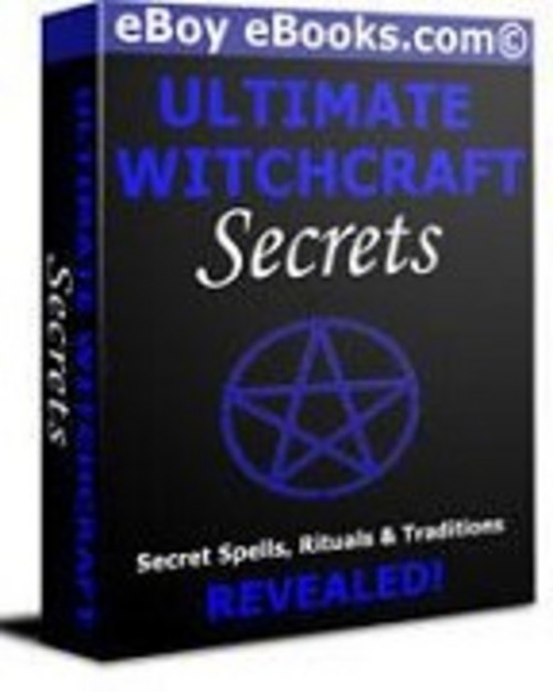 Pay for Ultimate Witchcraft Secrets Ebook collection.