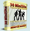 Thumbnail 30 Mini Site Templates With Master Resale Rights.