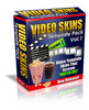 Thumbnail Video Skin Templates Pack Personal Use with MRR.