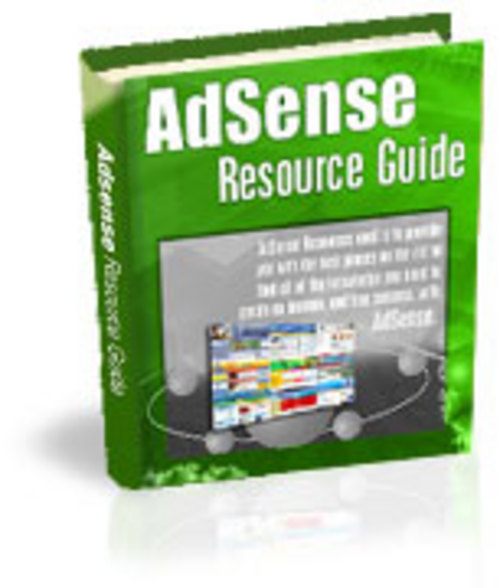 Pay for Adsense Resource Guide With Master Resale Rights.