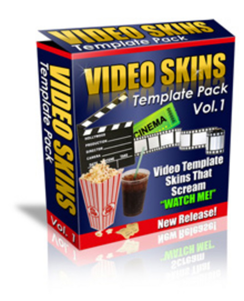 Pay for Video Skin Templates Pack Personal Use with MRR.