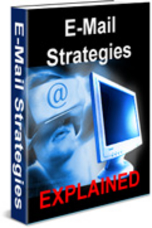 Pay for Email strategies With Master Resale Rights.