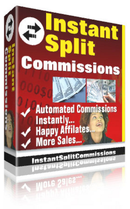 Pay for Instant split commission With Master Resale Rights.