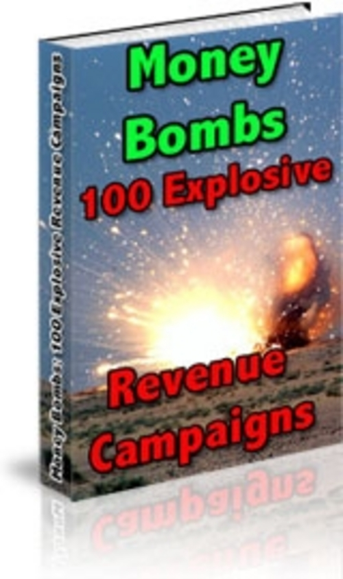 Pay for Money Bombs With Master Resale Rights.