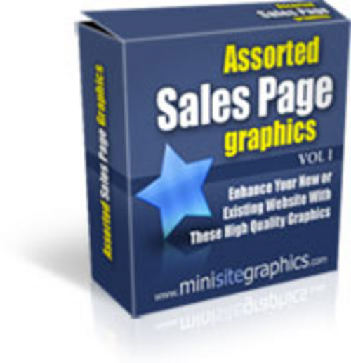 Pay for Sales Page Graphics With Master Resale Rights.