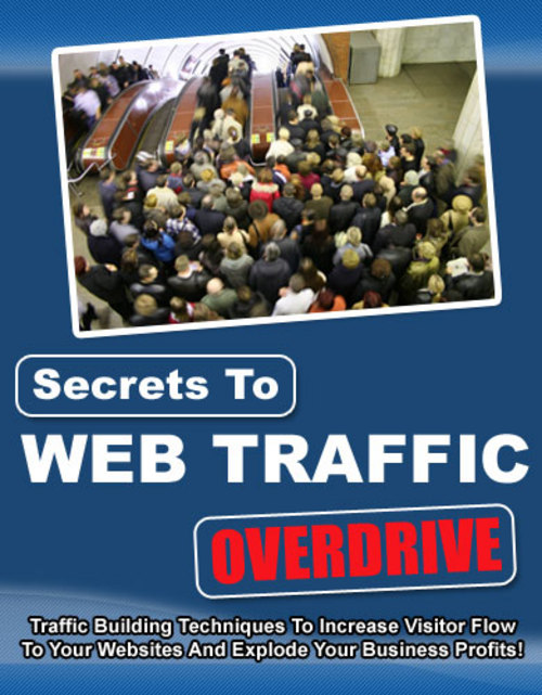 Pay for Secrets to Web Traffic Overdrive With Master Resale Rights.