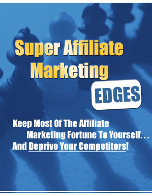 Pay for Super Affiliate Marketing Edges with MRR.
