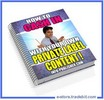 Thumbnail How To Cash In with your Own PLR Article