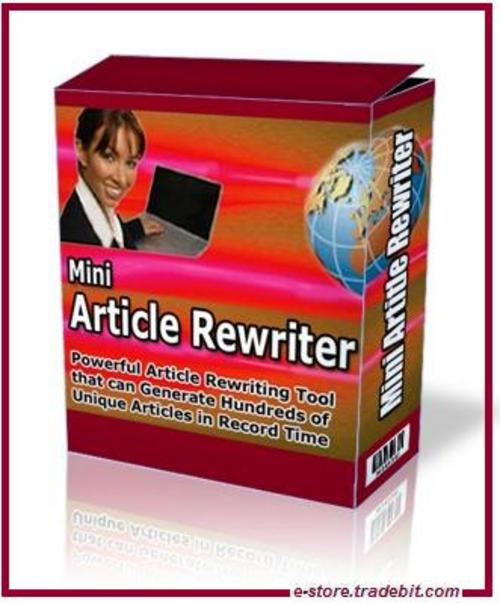 Pay for Mini Article Rewriter (MRR & Bonus Included)