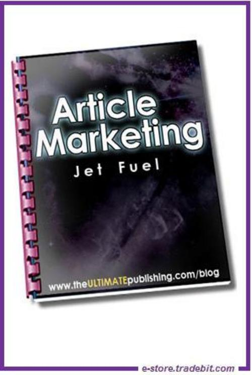 Pay for Article Marketing Jet Fuel - Ultimate Marketing Strategy