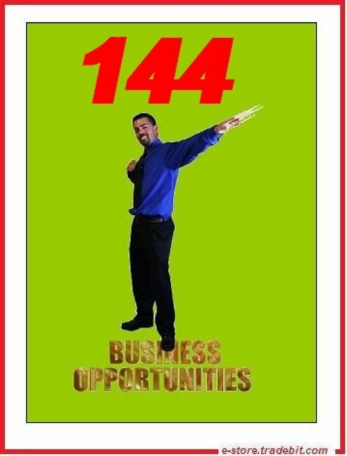 Pay for 144 Business Opportunities - Best Ideas To Succeed