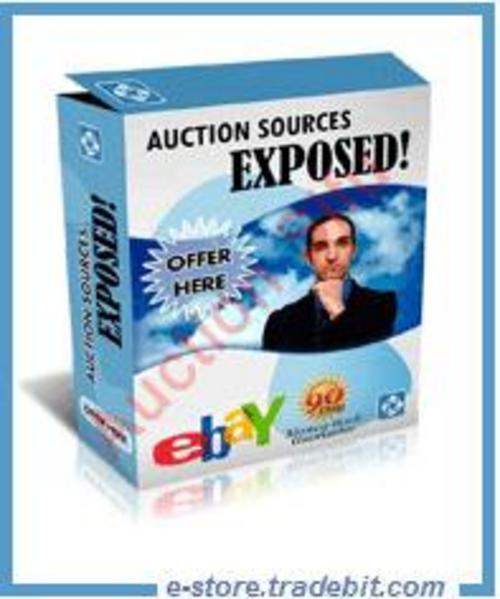 Pay for Auction Sources Exposed