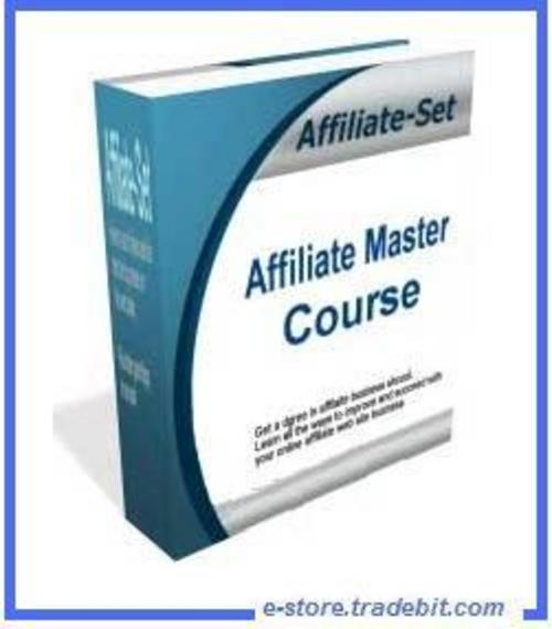 Pay for Affiliate Master Course -