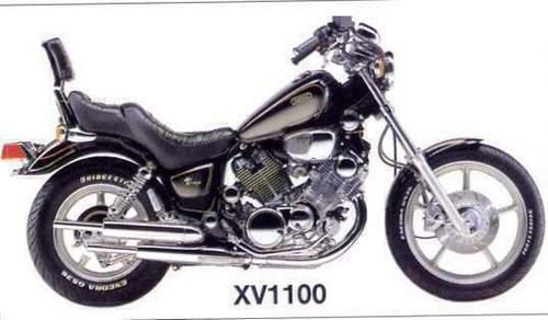 Yamaha Virago Xv1100 Virago 85