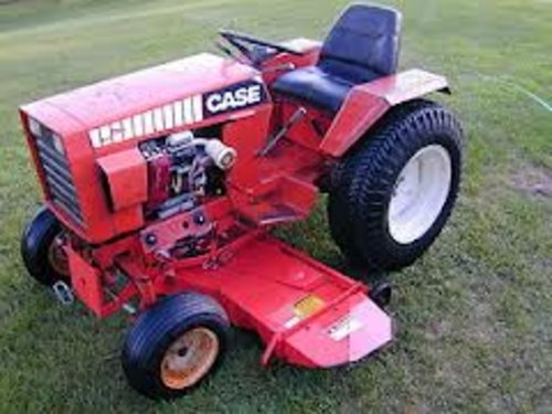 Case 444 Garden Tractor Service Manual