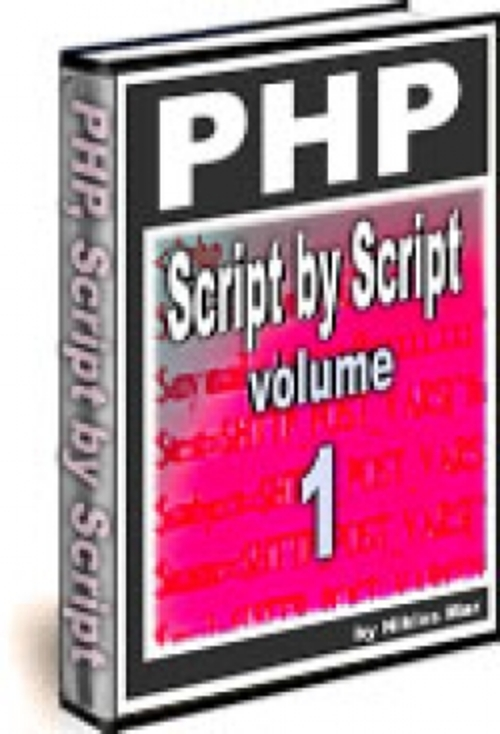Pay for PHP Script by Script - Volume 1