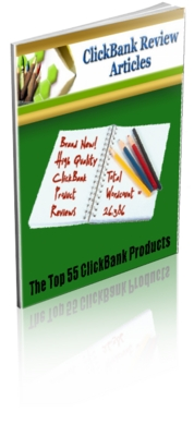 Pay for PLR 55 ClickBank Product Review Articles