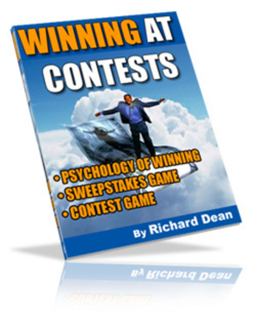Pay for How To Make THOUSANDS Of DOLLAR$ By WINNING At CONTESTS !
