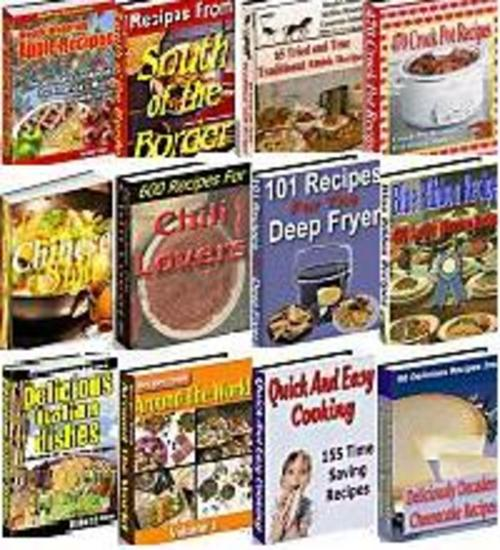 Pay for World-Class Collection - Gourmet Recipes