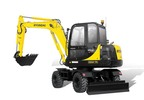 Thumbnail ROBEX MINI EXCAVATOR R55W-7A R55W7A WORKSHOP SERVICE MANUAL