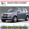Thumbnail DAIHATSU TERIOS J100 1997-2000 WORKSHOP SERVICE MANUAL