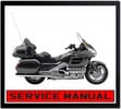 Thumbnail HONDA GOLD WING 1800GL 1800 BIKE WORKSHOP SERVICE MANUAL