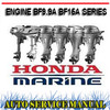 Thumbnail HONDA OUTBOARD ENGINE BF9.9A BF15A WORKSHOP SERVICE MANUAL