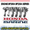 Thumbnail HONDA OUTBOARD ENGINE BF200A BF225A WORKSHOP SERVICE MANUAL