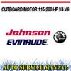 Thumbnail JOHNSON EVINRUDE 115-200 HP V4 V6 WORKSHOP SERVICE MANUAL