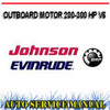 Thumbnail JOHNSON EVINRUDE 200-300 HP V6 2008+ WORKSHOP SERVICE MANUAL