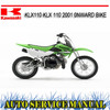 Thumbnail KAWASAKI KLX110 KLX 110 2001+ BIKE REPAIR SERVICE MANUAL