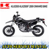 Thumbnail KAWASAKI KLX250S KLX250SF 2009+ BIKE REPAIR SERVICE MANUAL