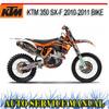 Thumbnail KTM 350 SX-F 2010-2011 BIKE WORKSHOP SERVICE REPAIR MANUAL